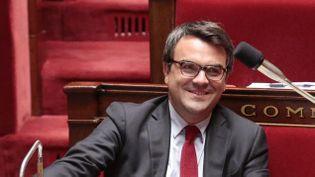 (Thomas Thévenoud a bien l'intention de rester sur les bancs de l'Assemblée nationale © MaxPPP)
