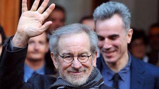 Steven Spielberg, le 17 janvier 2013 à Rome (Italie). (TIZIANA FABI / AFP)