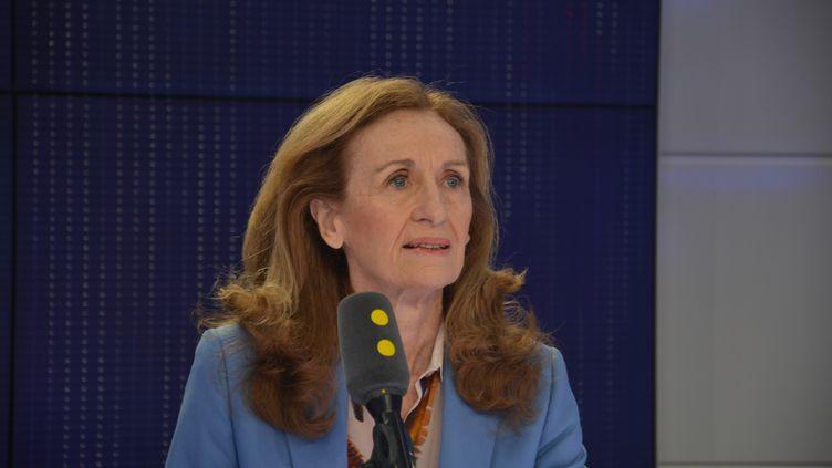 Nicole Belloubet, Garde des Sceaux, ministre de la Justice. (JEAN-CHRISTOPHE BOURDILLAT / RADIO FRANCE)