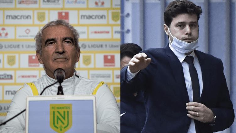 Raymond Domenech (FC Nantes) - Mauricio Pochettino (Paris Saint-Germain)