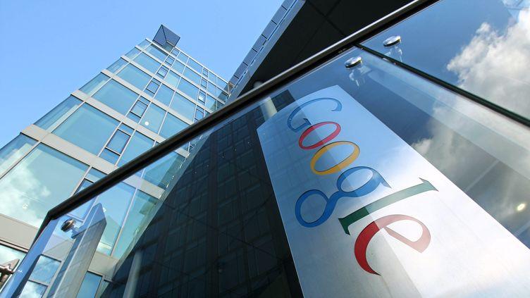 Le siège de Google Europe en Irlande, à Dublin. (PETER MUHLY / AFP)
