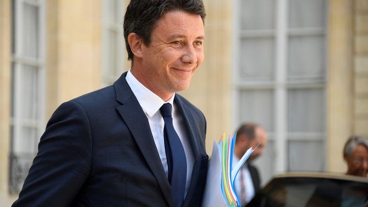 Le porte-parole du gouvernement, Benjamin Griveaux, à Paris, le 22 août 2018. (BERTRAND GUAY / AFP)
