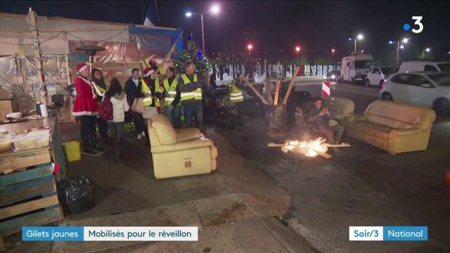 Nice : des gilets jaunes mobilisés pour le réveillon de Noël