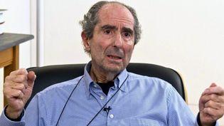 Philip Roth chez lui, à New York, le 22 octobre 2012  (Miguel Rajmil / Efe / Newscom / MaxPPP)