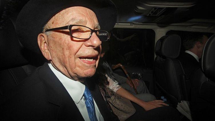 Rupert Murdoch, le PDG de News Corporation,le 26 avril 2012 à Londres (Royaume-Uni). (JUSTIN TALLIS / AFP)