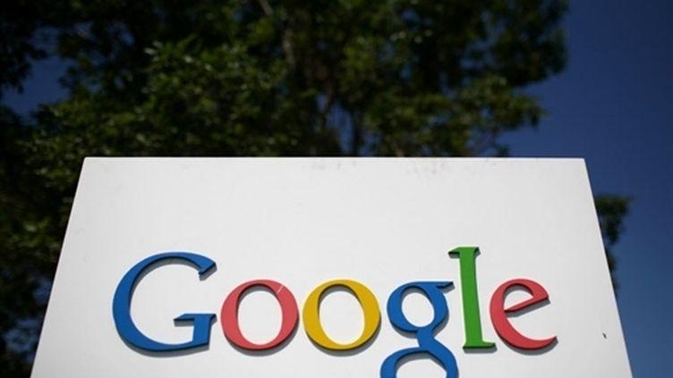 Le titre Google a reculé de 1,2% après avoir annoncé qu'il pouvait quitter la Chine. (AFP/Justin Sullivan)