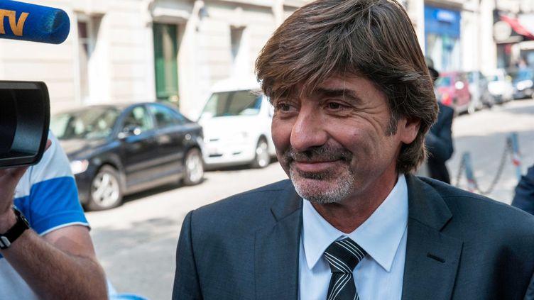 Jean-Michel Neyret lors de son audition par le conseil de discipline, le 4 septembre 2012 à Paris. (LAURENT ETIENNE / SIPA)