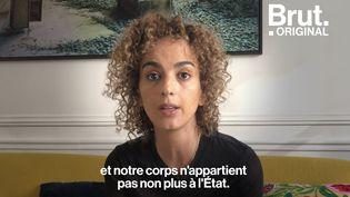 """VIDEO. """"Notre corps n'appartient pas à l'État"""" : la tribune de Leïla Slimani pour la liberté sexuelle au Maroc (BRUT)"""
