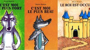 Trois ouvrages de l'auteur et illustrateur Mario Ramos  (Pastel / L'École des loisirs)