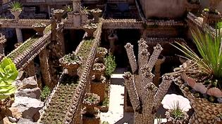 Situé dans le quartier de la Croix-Rousse de Lyon, le jardin Rosa Mir est un mélange insolite de minéral et de végétal  (France 3 / Culturebox)