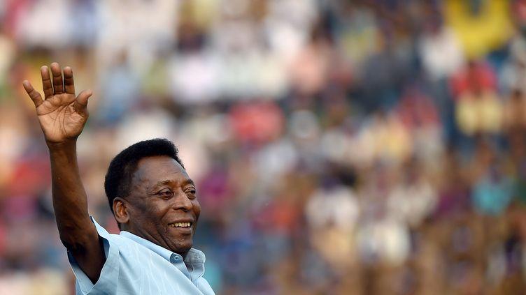 Pelé. (MONEY SHARMA / AFP)