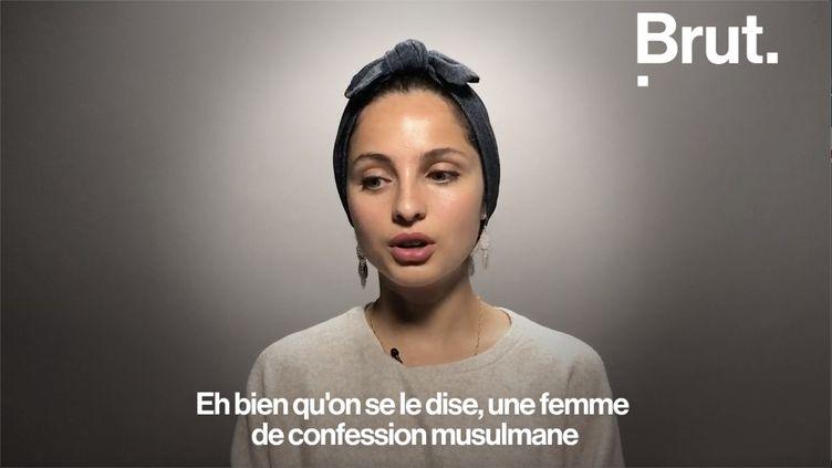 L'année dernière, la chanteuse Mennel a été au cœur d'une polémique après son passage à l'émission The Voice. Brut l'a rencontrée. (BRUT)