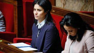 La députée LREM de la Manche Sonia Krimi, le 6 décembre 2017 à l'Assemblée nationale. (MAXPPP)