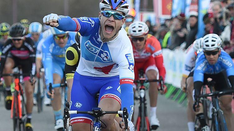 Nouvelle victoire pour Marc Sarreau (SYLVAIN THOMAS / AFP)