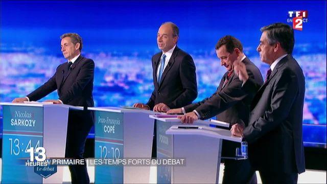 Primaire de la droite : un débat courtois, quelque peu tendu par les affaires