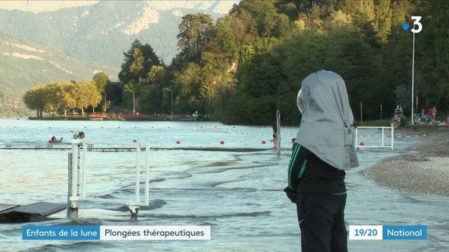 Enfants malades : un bol d'air pendant une plongée thérapeutique