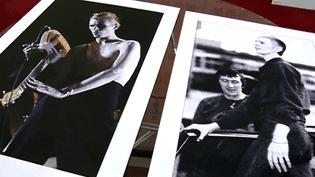 Deux des photos de David Bowie par Philippe Auliac exposées à Poitiers  (Philippe Auliac)