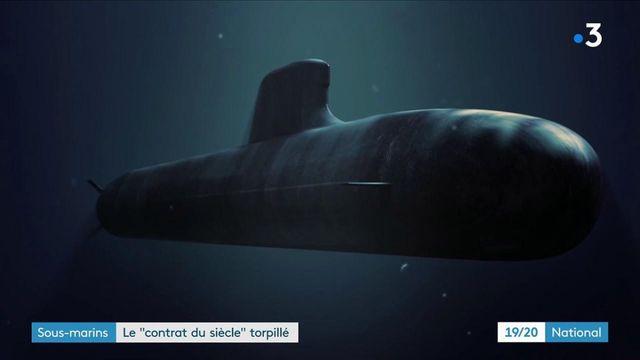 Sous-marins : une rupture de contrat forte au niveau diplomatique