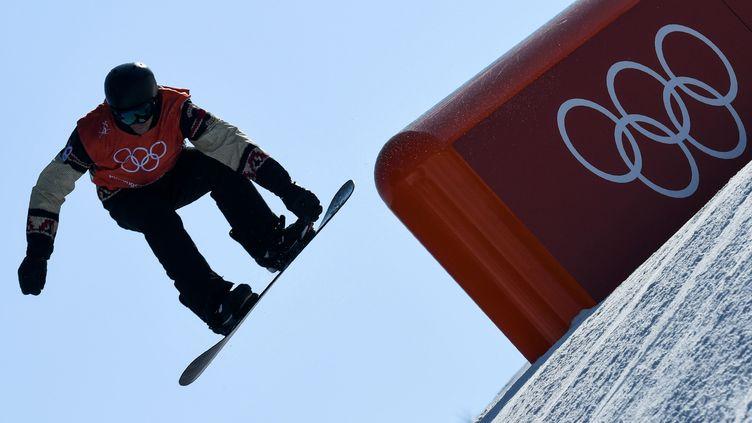 L'épreuve de slopestyle en snowboard (KIRILL KUDRYAVTSEV / AFP)