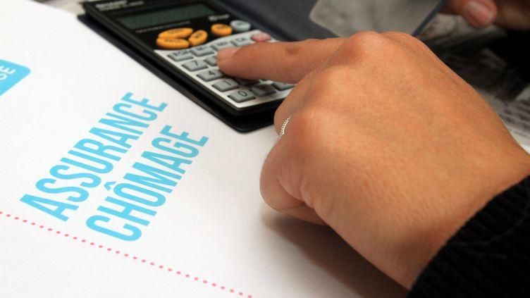 Un formulaire d'assurance chômage. (MAXPPP)