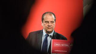 Le Premier secrétaire du Parti socialiste, Jean-Christophe Cambadélis, lors du conseil national du PS, le 6 février 2016, à Paris. (CITIZENSIDE/YANN KORBI / CITIZENSIDE.COM / AFP)