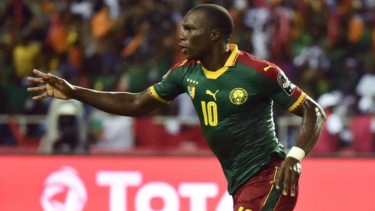Le Camerounais Vincent Aboubakar (ISSOUF SANOGO / AFP)