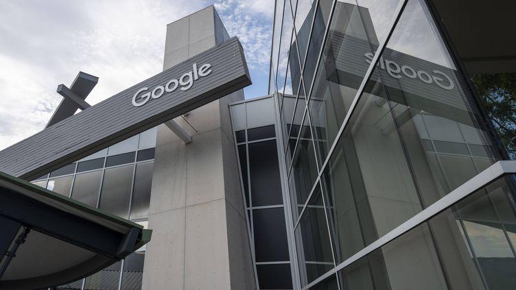 Le siège de Google, à Mountain View, en Californie (Etats-Unis), le 29 juillet 2021. (YICHUAN CAO / SIPA)