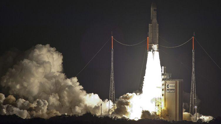 (Espace : 60e succès d'affilée pour Ariane 5 © MAXPPP)