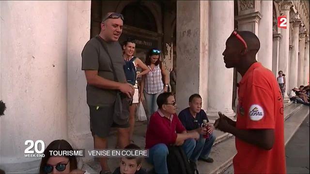 Tourisme : les habitants de Venise en colère