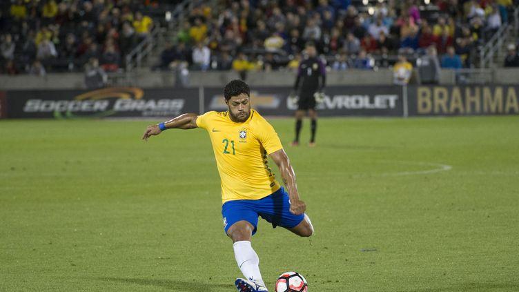 Le joueur brésilien Hulk (JASON CONNOLLY / AFP)