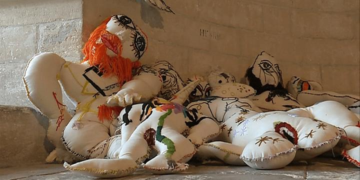 Poupées de Pascal Monteil  (France 3 / Culturebox)