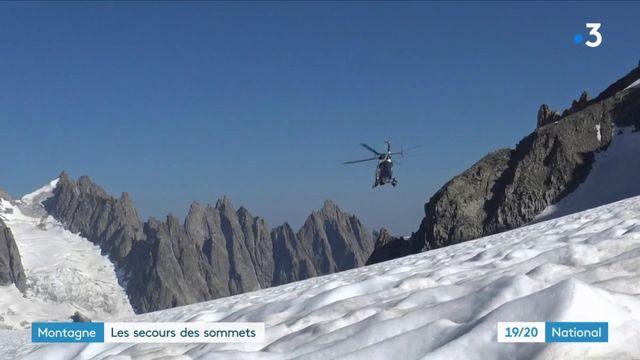 Montagne : le PGHM, les secours des sommets
