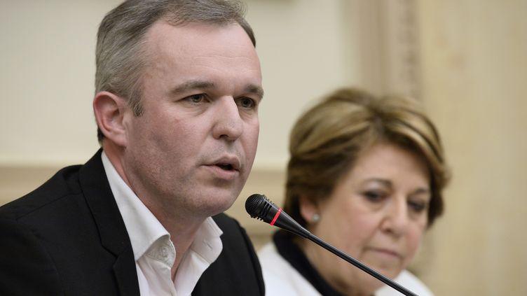 François de Rugy, samedi 4 avril 2015 à l'Assemblée nationale, à Paris. (BERTRAND GUAY / AFP)