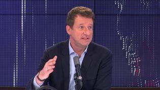 Yannick Jadot, eurodéputé EELV, invité de franceinfo mardi 10 novembre 2020. (FRANCEINFO / RADIO FRANCE)
