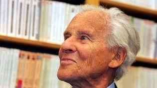 Jean d'Ormesson, le 3 novembre 2005. (MAXPPP)