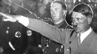 Hitler au congrès de Nuremberg en 1933  (Berliner Verlag/Archiv / DPA-ZENTRALBILD / dpa Picture-Alliance/AFP)
