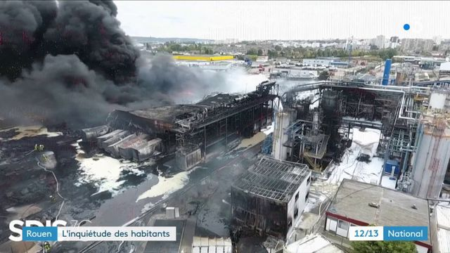 Rouen : l'inquiétude règne parmi les habitants