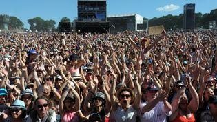 Le festival des Vieilles Charrues a atteint son record de fréquentation en 2016 avec 278 000 festivaliers. (FRED TANNEAU / AFP)