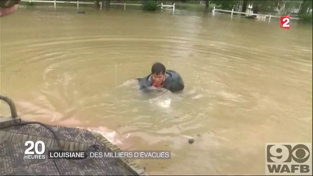 louisiane inondations USA