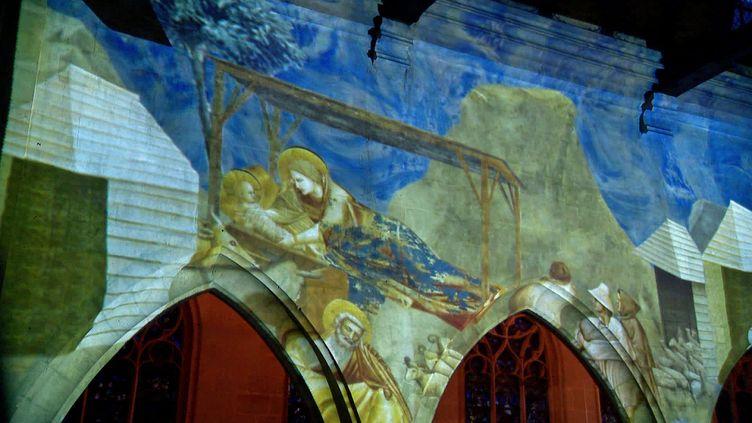 Les fresques de Giotto s'animent sur les murs de l'église Saint-Godard de Rouen (France3 Normandie)