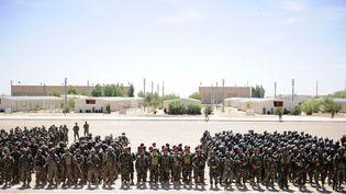 Le Camp Bastion, ici en 2015, situé dans la province afghane du Helmand, accueille depuis avril 2017, 300 Marines américains. (MAXPPP)