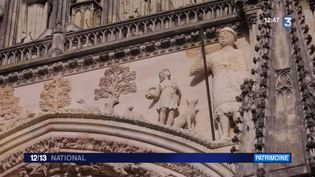 La cathédrale de Reims. (FRANCE 3)