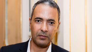L'écrivain Kamel Daoud à la Foire du livre de Francfort (20 septembre 2017)  (Yann Bohac / Sipa)