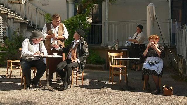 La café de la passerelle, un spectacle qui raconte la libération de Grenoble