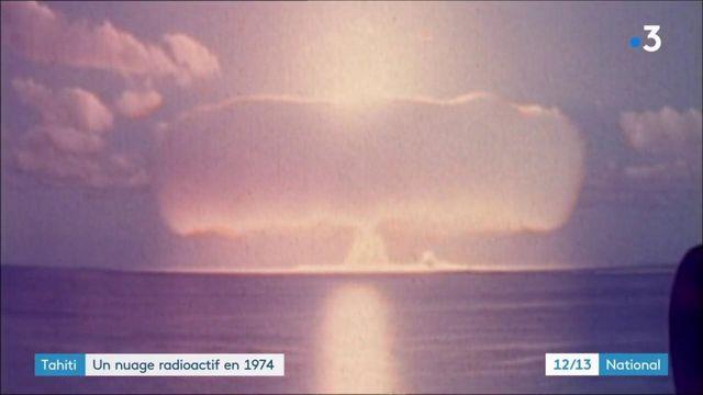 Tahiti : un nuage radioactif a survolé l'île en 1974, rapporte une étude