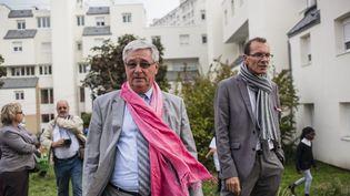 Le maire (PS) de Pierrefitte-sur-Seine, Michel Fourcade, le 10 octobre 2015. (MAXPPP)
