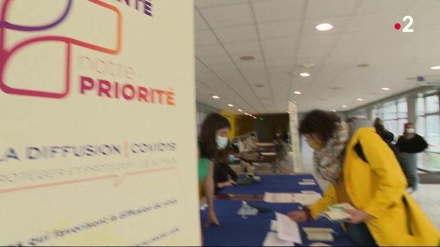 Coronavirus : les étudiants font de la sensibilisation