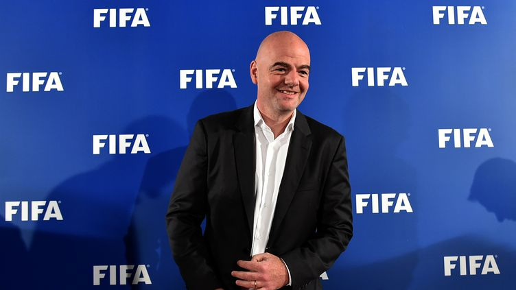 Le président de la Fifa, Gianni Infantino (ALBERTO PIZZOLI / AFP)