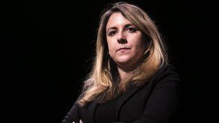 """Vanessa Codaccioni, lors de la conférence-débat """"Pas de sécurité sans libertés"""", le 17 janvier 2017 (VINCENT ISORE / MAXPPP)"""
