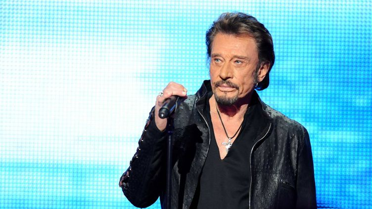 Johnny Hallyday au Téléthon, en décembre 2012  (Florence Durand / Sipa)